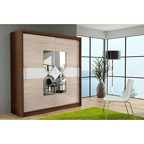 justhome klein xii schwebet renschrank kleiderschrank garderobenschrank sonoma i sonoma ii. Black Bedroom Furniture Sets. Home Design Ideas