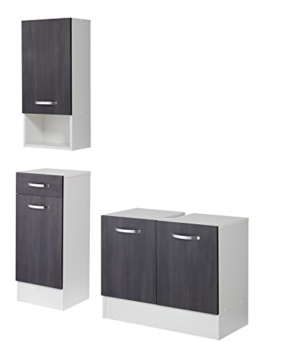 relaxdays 10017162 regal bambus 3 ablagen wei braun m bel24. Black Bedroom Furniture Sets. Home Design Ideas
