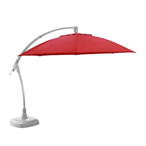 KETTLER Advantage Schirme easy-comfort Ampelschirm Durchmesser 330 cm, UPF 50+, inklusive Abdeckhaube, 0306233-0500, mehrfarbig