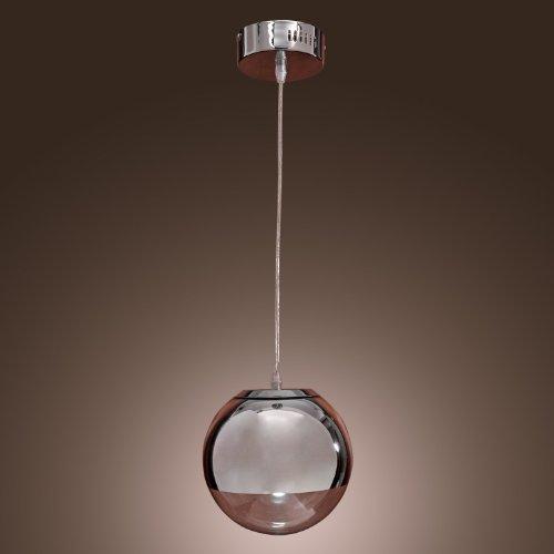 KJLARS Pendelleuchte Moderne Metall Glas Hängelampe