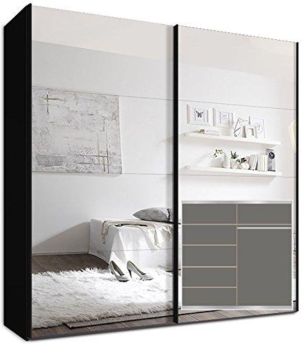 kleiderschrank schwebet renschrank 225 x 220 x69 cm inkl. Black Bedroom Furniture Sets. Home Design Ideas