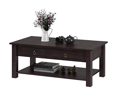 klein gro couchtisch ilona aus kiefer massiv in wei lasiert havanna gebeizt ge lt gro. Black Bedroom Furniture Sets. Home Design Ideas