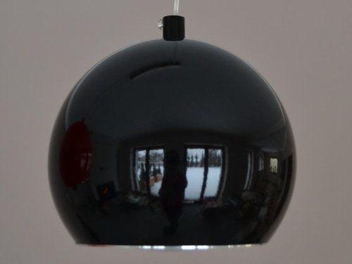 LED Hängelampe CALA 1 Hängeleuchte Pendellampe Designer Lampe 7 Watt LED (schwarz - led kalt-weiß)