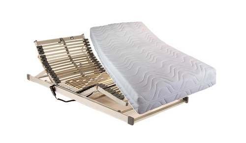 luxus set bestehend aus fan proaktiv 7 zonen tonnentaschenfederkern matratze in 100x200 cm im. Black Bedroom Furniture Sets. Home Design Ideas