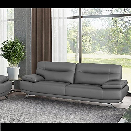 ledersofa zweisitzer couchgarnitur ledercouch polstergarnitur modern sofagarnitur m bel24. Black Bedroom Furniture Sets. Home Design Ideas