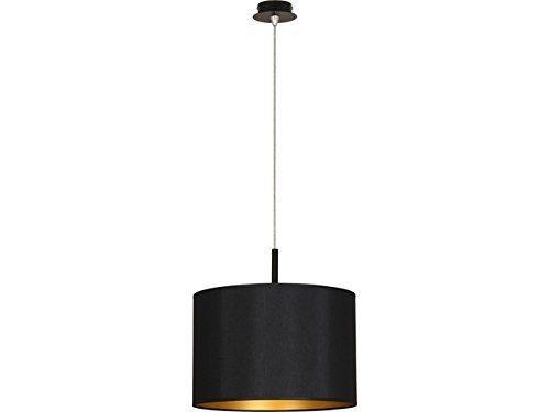 Moderne Loft Hängeleuchte Ø37cm in schwarz gold E27 bis zu 60 Watt Pendelleuchte Decke Innen Lampen Beleuchtung Innen Wohnzimmer Schlafzimmer