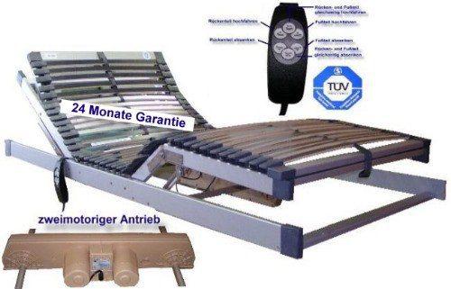Motorlattenrost Elektrischer Lattenrost DeLuxe 140 x 200