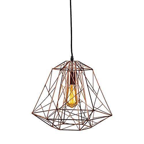 Pendelleuchte Framework Vintage Industrie kupfer - für LED geeignet