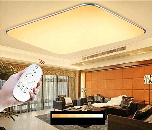 Sailun 48w dimmbar ultraslim led deckenleuchte modern deckenlampe flur wohnzimmer lampe - Wandleuchte modern wohnzimmer ...