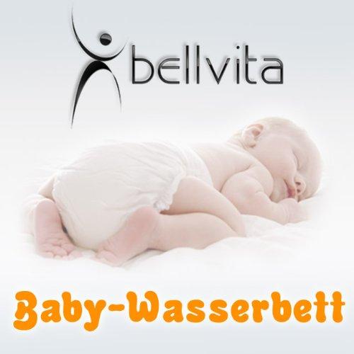 SONDERAKTION bellvita Baby-Wasserbett, Wasserbettmatratze für Babys und Kleinkinder 70x140cm