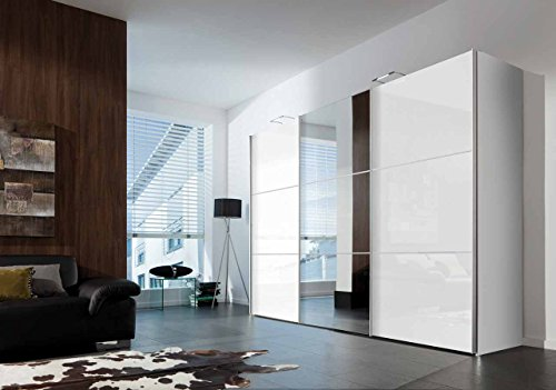 schwebetrenschrank kleiderschrank schrank. Black Bedroom Furniture Sets. Home Design Ideas