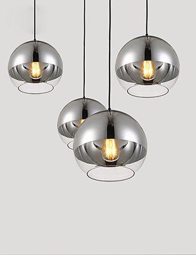 ShangYi Max 60W Zeitgenössisch Designer Galvanisierung Glas Pendelleuchten Wohnzimmer / Schlafzimmer / Esszimmer / Küche / Studierzimmer/Büro , 220-240v