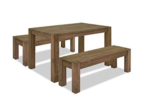 massivholz essgruppe f r 4 personen aus palisander. Black Bedroom Furniture Sets. Home Design Ideas