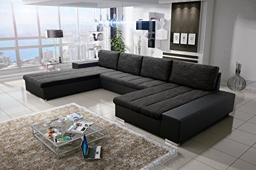 sofa couchgarnitur couch sofagarnitur verona 3 u polstergarnitur polsterecke wohnlandschaft mit. Black Bedroom Furniture Sets. Home Design Ideas