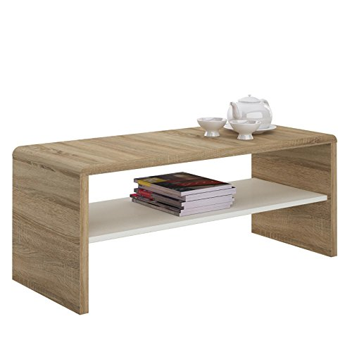 hometrends4you 247222 couchtisch holz wildeiche massiv ge lt 80 x 80 x 45 cm m bel24. Black Bedroom Furniture Sets. Home Design Ideas