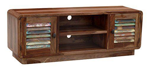 """The Wood Times 15-IN4102 TV Board """"Hide"""", 2 Türen, 2 Fächer"""