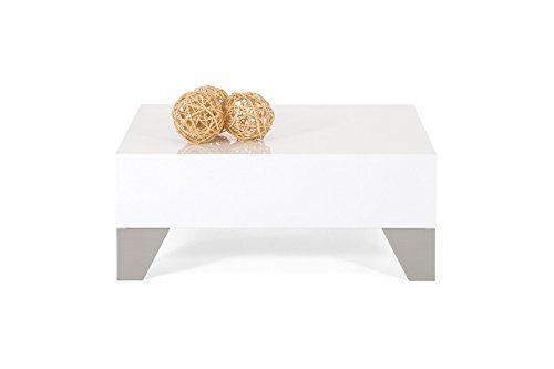 Tisch Couchtisch hochglanz weiß mod. EVOLUTION 60