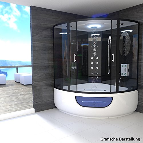 tronitechnik dampfdusche duschtempel whirlpool badewanne. Black Bedroom Furniture Sets. Home Design Ideas