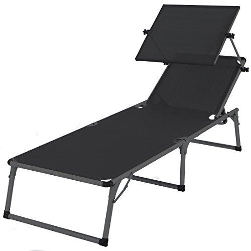 ultranatura aluminium sonnenliege nizza mit dach. Black Bedroom Furniture Sets. Home Design Ideas