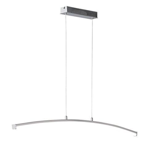trio leuchten led jojo pendlleuchte avenue chrom glas klar satiniert 326310606 m bel24. Black Bedroom Furniture Sets. Home Design Ideas