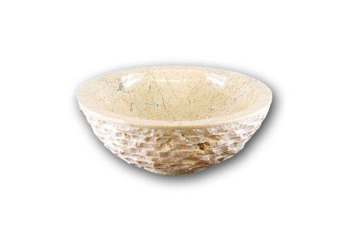 Waschbecken Natursteinwaschbecken Marmor Aufsatzwaschbecken Stein