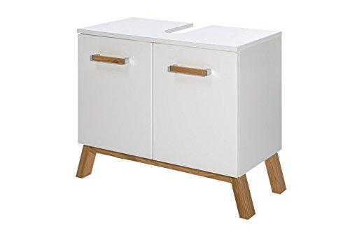 waschbeckenunterschrank waschbeckenschrank badunterschrank waschtischunterschrank wei. Black Bedroom Furniture Sets. Home Design Ideas