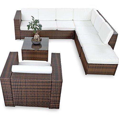 13tlg deluxe lounge set gruppe garnitur gartenm bel for Lounge garnitur outdoor