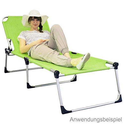 xxl gartenliege extra hoch gelb gr n aluminium sonnenliege deckchair m bel24. Black Bedroom Furniture Sets. Home Design Ideas