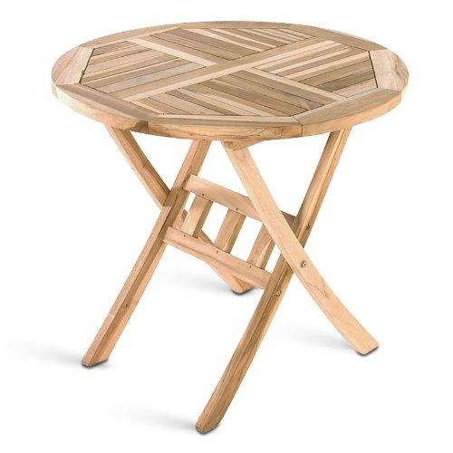 klapptisch balkontisch balkon m bel gartenm bel hartholz tisch rund 60er garten m bel24. Black Bedroom Furniture Sets. Home Design Ideas