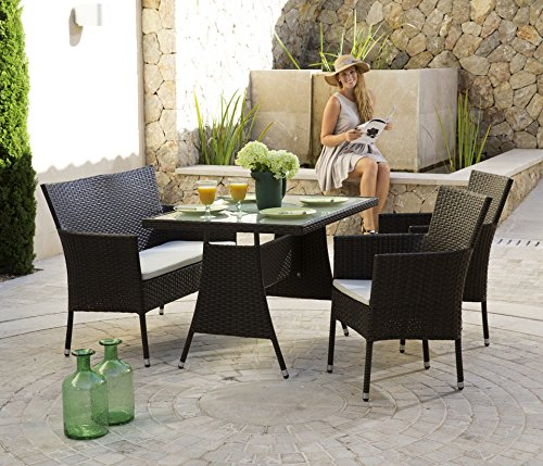 baumarkt direkt 7 tlg gartenmbel diningset trentino braun 0 xxl m bel m bel24. Black Bedroom Furniture Sets. Home Design Ideas