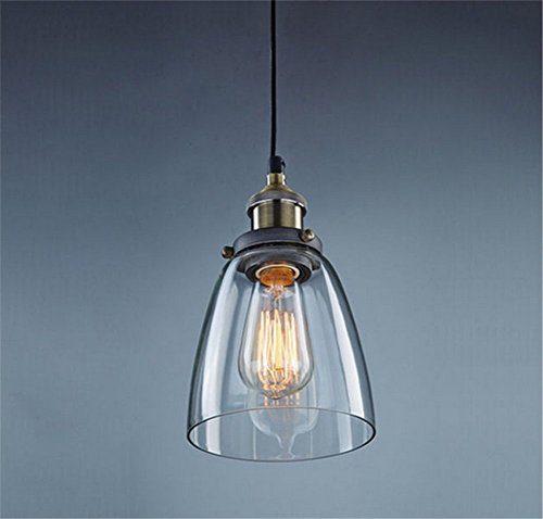 wings of wind® Retro Lampe Vintage Hängelampe Deckenleuchten Edison E27 (A)