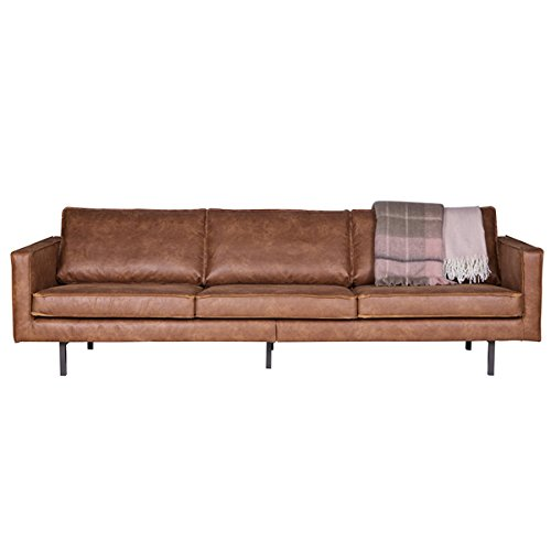 3 sitzer sofa rodeo echtleder leder lounge couch garnitur braun m bel24. Black Bedroom Furniture Sets. Home Design Ideas