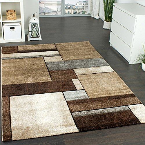 designer hochflor shaggy teppiche kuschelig kariert versch farben u gr e 1501 ma e 80x250 cm. Black Bedroom Furniture Sets. Home Design Ideas