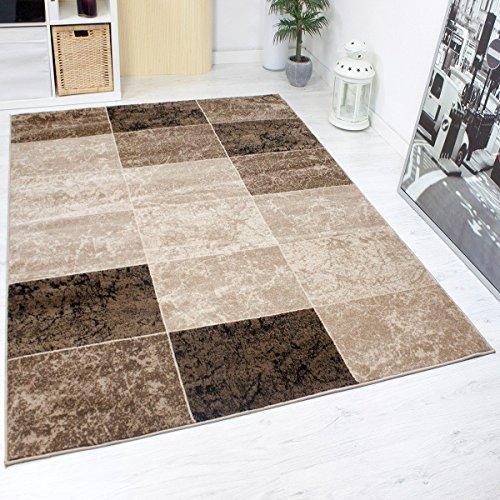 designer teppich modern kariert marmor muster meliert in. Black Bedroom Furniture Sets. Home Design Ideas