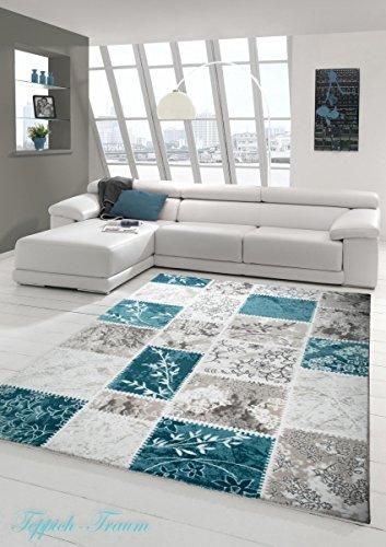 designer teppich moderner teppich wollteppich patchwork wohnzimmerteppich wollteppich ornament. Black Bedroom Furniture Sets. Home Design Ideas