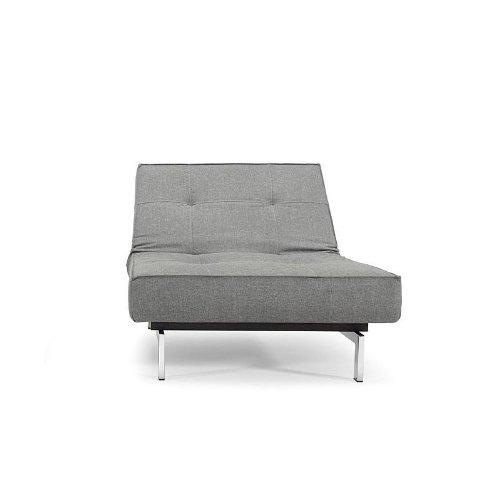 innovation splitback sessel grau stoff 216 flashtex dark grey gestell chrom m bel24. Black Bedroom Furniture Sets. Home Design Ideas