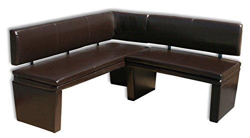 eckbank wei kunstleder neuesten design. Black Bedroom Furniture Sets. Home Design Ideas