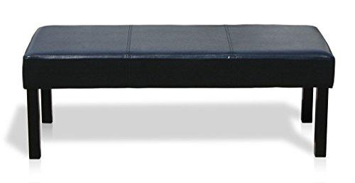 KMH®, Sitzbank mit schwarzem Kunstlederbezug (#201740)