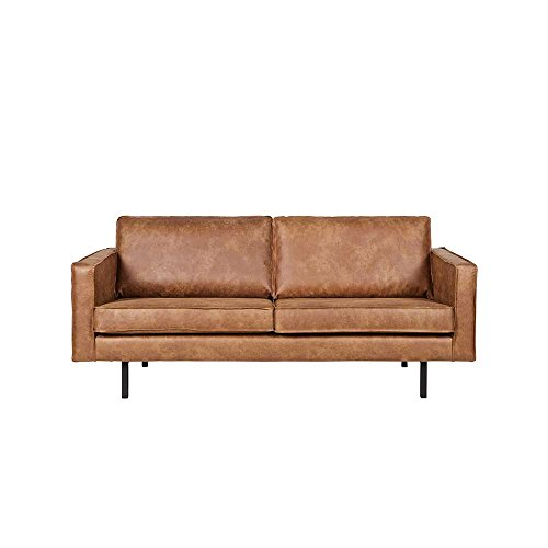 lounge sofa in braun recycling leder pharao24 m bel24. Black Bedroom Furniture Sets. Home Design Ideas