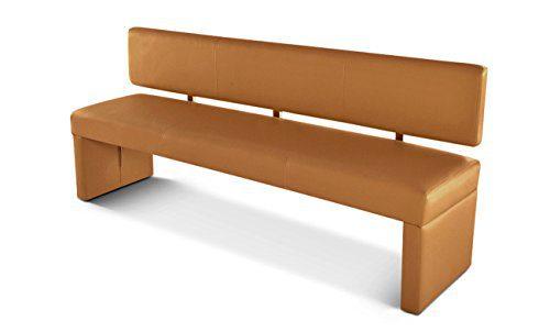 SAM® Esszimmer Einzel Sitzbank 200 cm cappuccino SANDER Bank Polster Esszimmer komfortabel Lieferung erfolgt über Spedition teilzerlegt