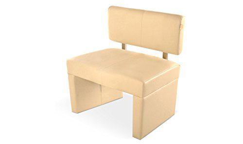 SAM® Sitzbank Bank Sandra in creme 80 cm Sitzbank komplett bezogen angenehme Polsterung pflegeleicht teilzerlegt Auslieferung durch Paketdienst