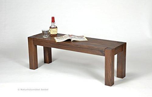 brasilm bel sitzbank 39 rio classico 39 160 x 38 x 44 cm pinie massivholz farbton eiche antik. Black Bedroom Furniture Sets. Home Design Ideas