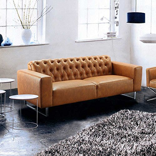 sofa in braun factory design pharao24 m bel24 xxl m bel. Black Bedroom Furniture Sets. Home Design Ideas