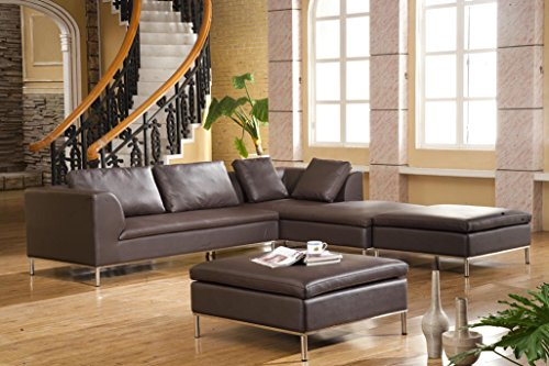 sofa hermes leder braun zweisitzer 2 sitzer ledersofa echtleder by danform m bel24. Black Bedroom Furniture Sets. Home Design Ideas