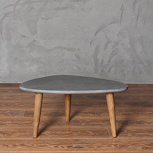 couchtisch imitation zement tisch dreieck einfache moderne tabelle einfache tabelle. Black Bedroom Furniture Sets. Home Design Ideas