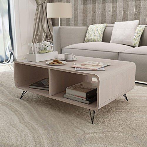 vidaxl couchtisch holz wohnzimmertisch kaffeetisch beistelltisch sofatisch tisch grau m bel24. Black Bedroom Furniture Sets. Home Design Ideas