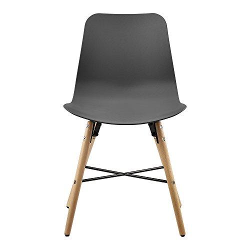 esstisch wei 120 x 80 x 75cm st hle grau 80 x 44 5cm m bel24. Black Bedroom Furniture Sets. Home Design Ideas
