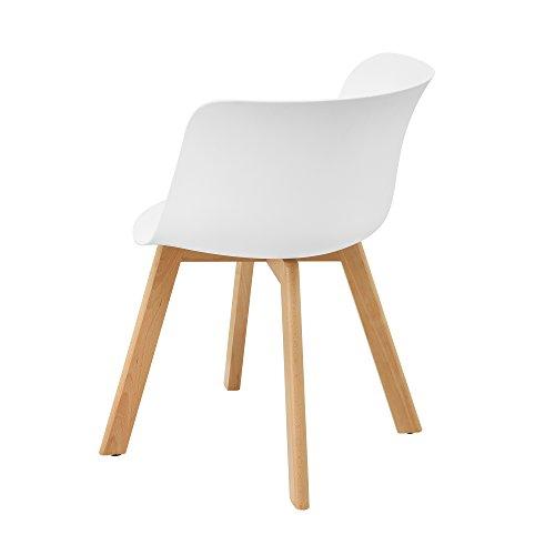 esstisch mit 6 st hlen wei 180x80 k chentisch esszimmertisch 6 xxl m bel m bel24. Black Bedroom Furniture Sets. Home Design Ideas