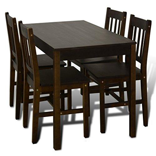 VidaXL Esszimmerstühle Stuhl Esstisch Küchentisch