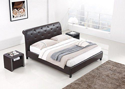 Designer Bett BAROCK MODERN #78 Doppelbett (ALLE GRÖßEN)